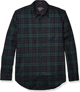Pendleton Men's Long Sleeve Button Front Tall Lodge Shirt