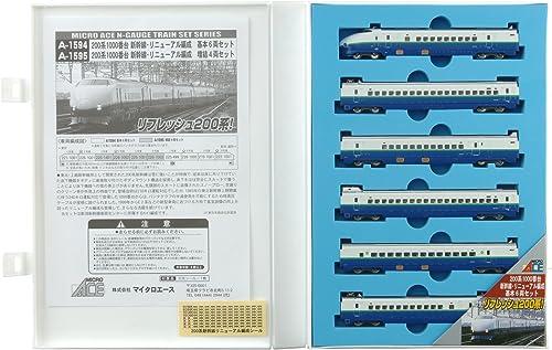 ofreciendo 100% Micro As As As N medidor de la serie 200 1000 series renovacioen Shinkansen organizacioen Basic 6-car set modelo A1594 tren de ferrocarril  centro comercial de moda