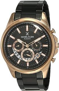 Daniel Klein Analog Black Dial Men's Watch-DK12110-3
