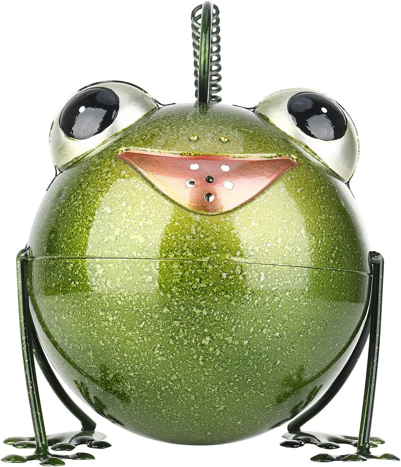 Watering Cans Metal Frog quality assurance OFFicial store Durabl Interesting Design Pot