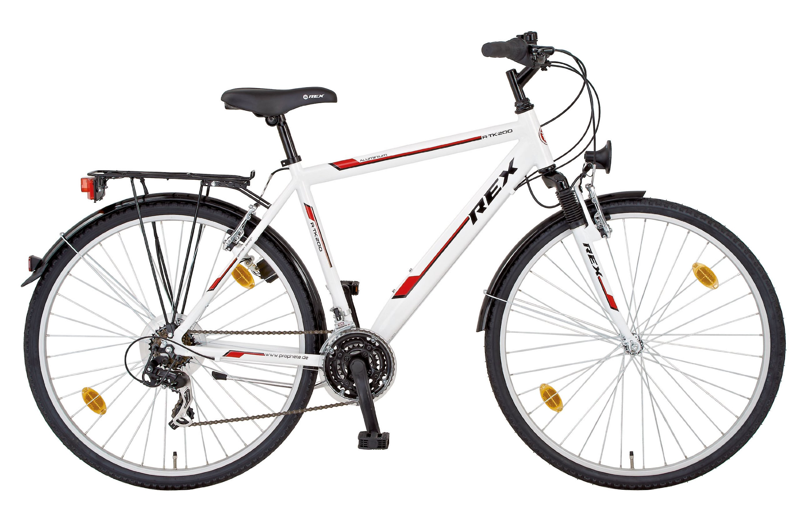 Rex ALU-Trekking 28 Zoll Rtk 200 - Bicicleta híbrida (21 ...
