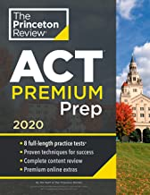Download Book Princeton Review ACT Premium Prep, 2020: 8 Practice Tests + Content Review + Strategies (College Test Preparation) PDF