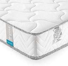 Twin Mattress Memory Foam 6 Inch, Inofia Cool Memory Foam Single Bed Mattress in a Box, CertiPUR-US Certified, Pressure Re...