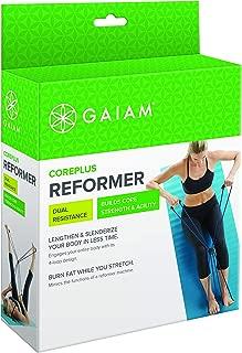 Gaiam Pilates Coreplus Reformer Resistance Band Kit (Includes Digital Workout)