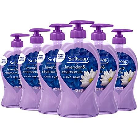 Softsoap Liquid Hand Soap, Lavender and Chamomile - 11.25 fluid ounces (6 Pack)