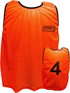 Soccer Innovations Adult Mesh Numbered Scrimmage Vest Style