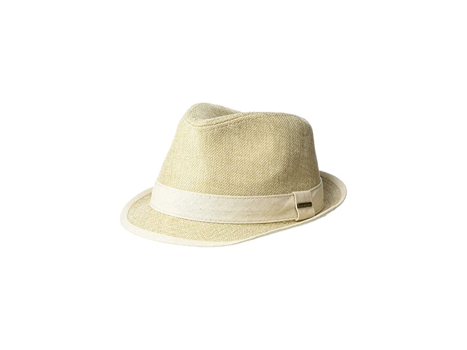 Stetson Polyester Fedora (Tan) Fedora Hats