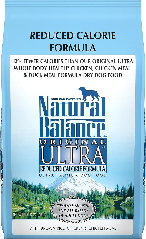 Natural Balance Original Ultra Reduced Calorie Formula Dry Dog Food, 4.5Pound