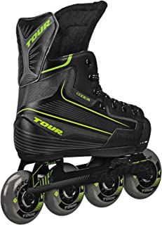 Tour Hockey Code 9 Youth 可调节直排冰球鞋