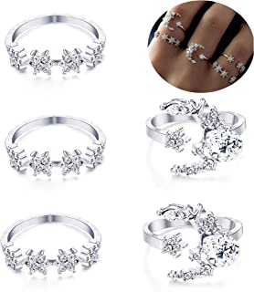 4c7e5cb7ac Amazon.com: ring sets for teens girls - LOYALLOOK
