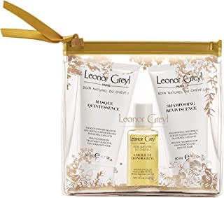 Leonor Greyl Paris Premium Travel Kit for Dehydrated, Colored and Damaged Hair