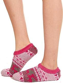 Slipper Socks With Grippers For Women – Cozy, Warm Fuzzy Socks – Sherpa Lined Socks For Girls