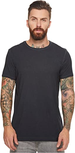 Scotch & Soda - Classic Short Sleeve Tee in Jersey Quality with Oil Wash