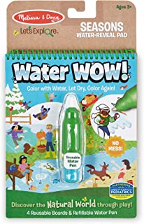 Melissa & Doug 40820 Let's Explore Water Reveal-Seasons | Pretend Play | 3+ | Gift for Boy or Girl