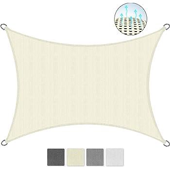 Antracite Sol Royal Tenda a Vela Impermeabile 400x300 cm SolVision PS9 Rettangolare Protezione Anti Raggi UV