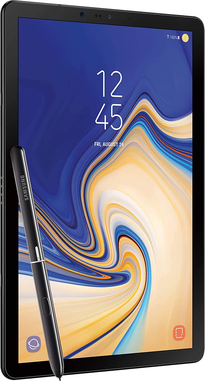 Samsung Galaxy Tab S4 10.5 inches (S Pen Included) 64GB, Wi-Fi Tablet - Black (Renewed)