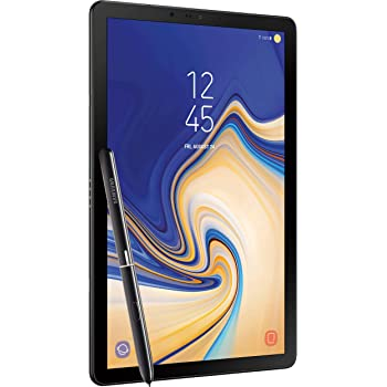 Samsung Galaxy Tab S4 10.5in (S Pen Included) 64GB, Wi-Fi, Verizon, Tablet - Black (Renewed)