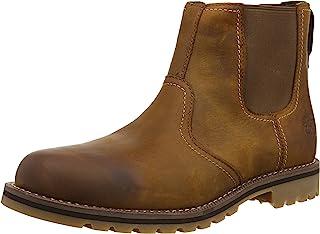 Timberland Larchmont، حذاء تشيلسي رجالي، بني (بني)، 7. 5 المملكة المتحدة (41 1/2 EU)