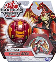 Bakugan Deka ، Dragonoid، Jumbo Collectible Transforming شکل ، برای سنین 6 و بالاتر