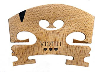 پل ویولن ویوتی 4/4: پل ویولن افرا جامد درجه برتر ، پیش برش