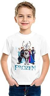 FMstyles - Disney Frozen White Kids Unisex Tshirt - FMS635-3-4 Years