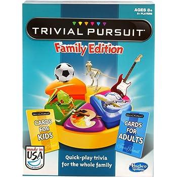 Hasbro Games Trivial Pursuit Family Edition (Amazon Exclusive)