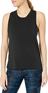 Core 10 Women's Standard Pima Cotton Dropped Arm Sleeveless Tank