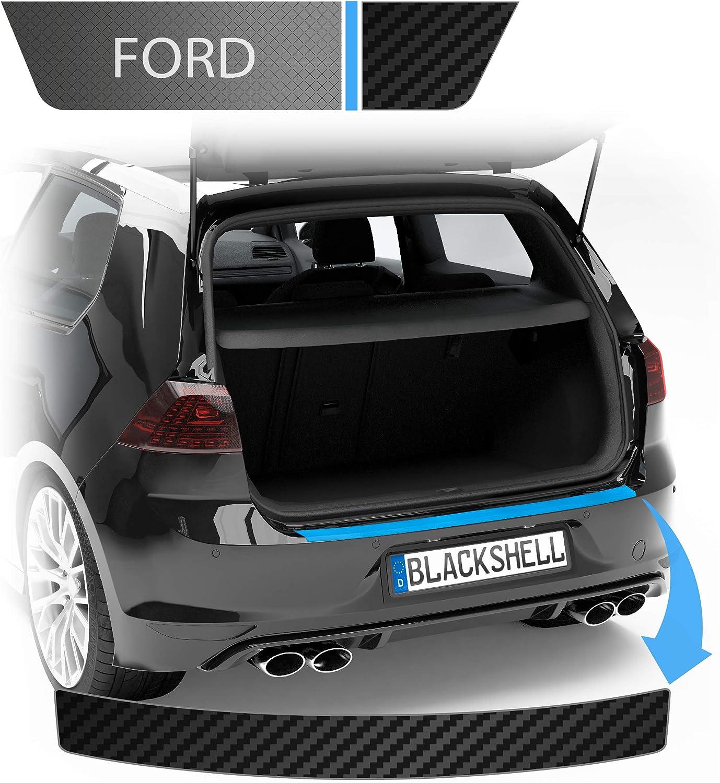 Blackshell Ladekantenschutz Folie Inkl Premium Rakel Passend Für Focus Turnier Typ Hn Bj Ab 2018 Carbon Matt Passgenaue Lackschutzfolie Auto