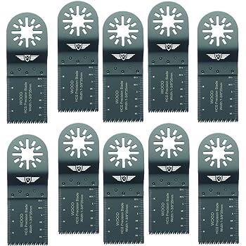 Accesorios para multiherramientas Juego de 31 hojas mezcladas SabreCut BB/_SCK31 para Fein SuperCut y Festool Vecturo Oscillating Multitool