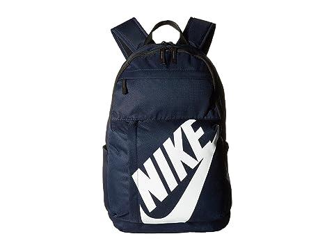 Elemental Nike Sportswear Negro Mochila Blanco Obsidiana zdAqnw