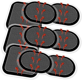 TAIKUU 9 PCS Gel Pads Replacement Unit Set Pack for All Abdominal Belts