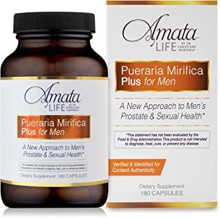 Amata Life by Dr. Christiane Northrup Pueraria Mirifica Plus for Men Capsules 90 Day