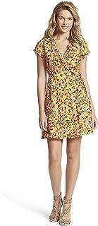 Jessica Simpson Women's Sade Ruffle Trim Wrap Dress