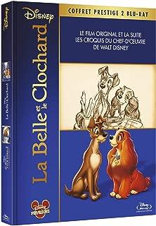 La Belle et le clochard + Le Belle et le clochard 2 + livret de croquis [Blu-ray]