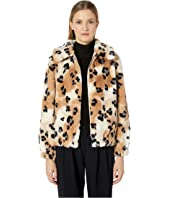 Rebecca Taylor - Cheetah Faux Fur Coat