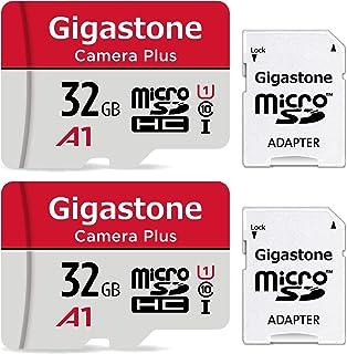 日本市場で強力 ギガストーンマイクロSDカード32GBマイクロSDカードフルHD2パック2個2。