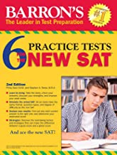 Barron's 6 Practice Tests for the NEW SAT, 2nd Edition (Barron's 6 SAT Practice Tests)