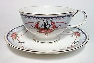 Noritake Kiki's Delivery Service JIJI Tea Cup Sorcerer Blue From Japan New
