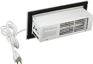 Tjernlund CBW Automatic Register Booster Fan, Steel, White