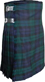 Scottish Kilt for Men/Boys, 100% 13 oz Wool, Men's Tartan Kilt