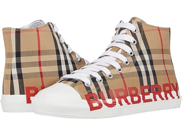 Burberry Kids Mini Larkhall High Top