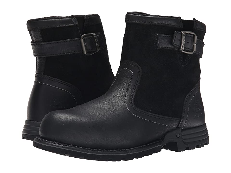 Retro Boots, Granny Boots, 70s Boots Caterpillar - Jace Steel Toe Black Womens Work Boots $134.00 AT vintagedancer.com