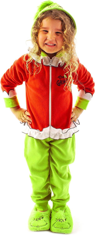 The Grinch Pijamas de salón para niños Onesie Character 3D