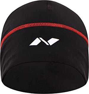 Nivia 1138 Polyester Gym and Running Cap (Black)