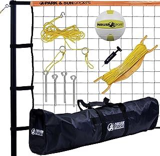 Park & Sun Sports Tournament 179: Portable Outdoor Volleyball Net System