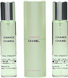 CHANEL CHANCE EAU FRAICHE Eau De Toilette vaporizador twist&spray 3x20ml
