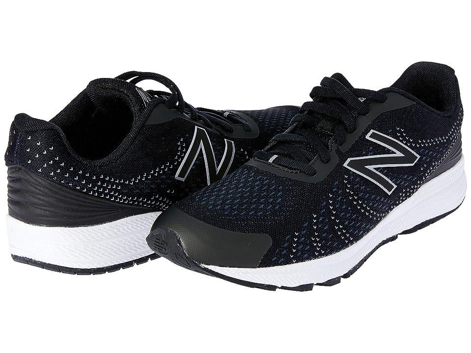 New Balance Kids Rush (Big Kid) (Black/Grey) Boys Shoes