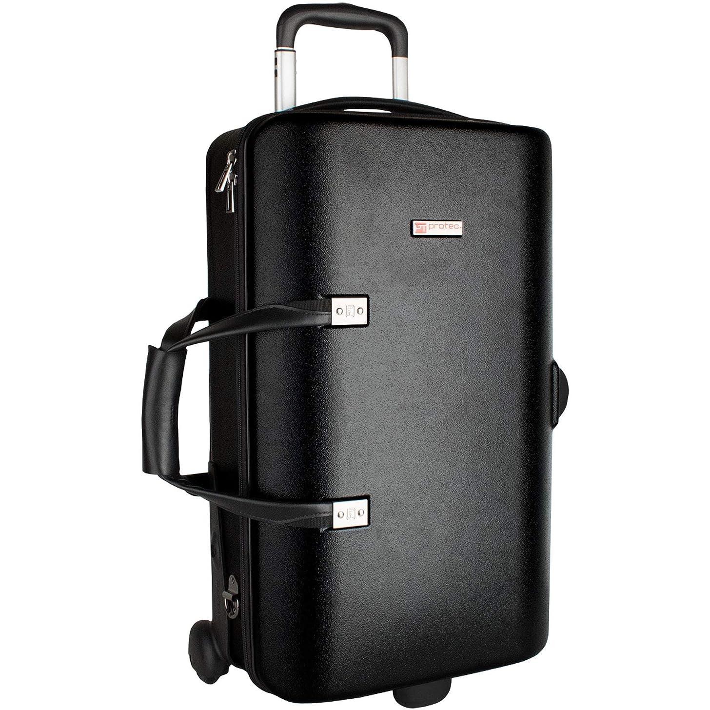 Protec Triple Trumpet Case with Wheels, Black (BLT301T)