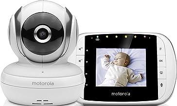 Motorola Baby MBP 33S - Vigilabebés vídeo con pantalla LCD
