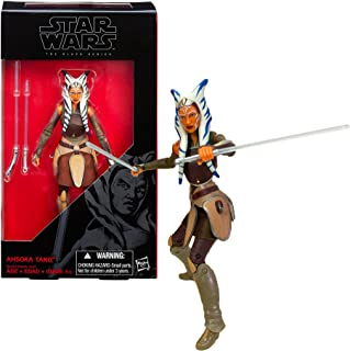 Star Wars Year 2015 The Black Series 6 Inch Tall Action Figure #20 - AHSOKA TANO B6330 with 2 Lightsabers